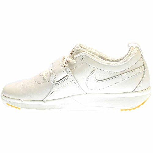 Nike Herren Trainerendor Prem Skaterschuhe Weiß / Goldfarben / Braun (Smmt Wht / Smmt Wht-Gm Lght Brwn)