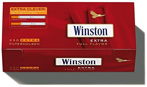 2000-8x250-winston-extra-hulsen-filterhulsen-zigarettenhulsen