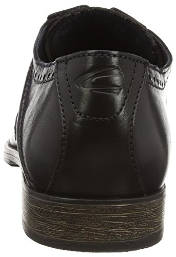 Camel Active - Como 12, Stringate da uomo Nero (Black - Schwarz (black/grey/midnight))