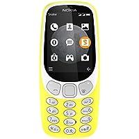 Nokia 3310 Téléphone portable débloqué 3G Double Micro-SIM Jaune