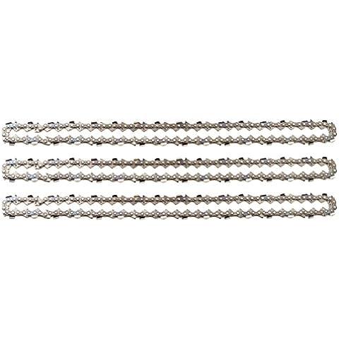 3 tallox cadenas de sierra .325