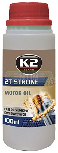 Motoröl Öl halbsynthetisch 2T 2 T 2-Takt RED ROT Zweitakt-Motoren Auto Motoroller Roller Mofa Quad...