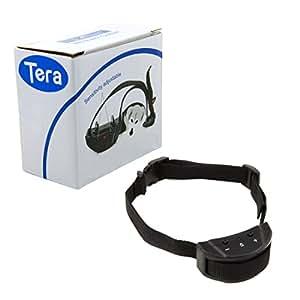 Tera Collier anti aboiement électrique pour entraîner chien pour entraîner chien bouton acoustique Secousse