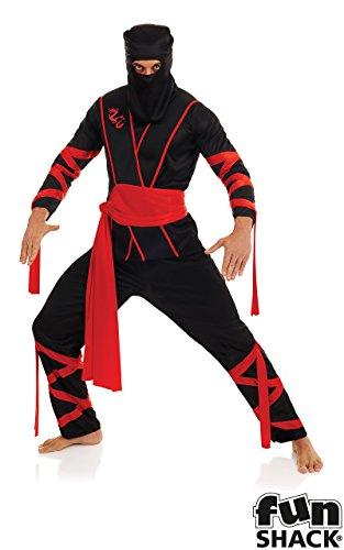 Fun Shack Costume, Mens Ninja, L Uomo