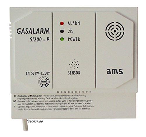 AMS Erdgas Melder S/200-P im Test