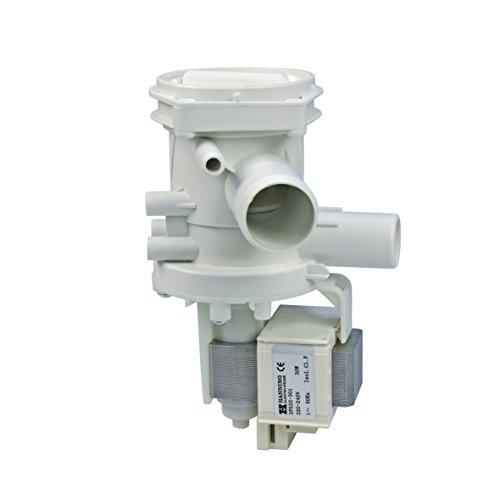 Europart 10002300 Ablaufpumpe Magnettechnikpume Laugenpumpe Pumpe Hanning 30Watt Waschmaschine passend wie Bosch Siemens 144487 00144487 auch Neff Constructa DeDietrich Foron Gaggenau