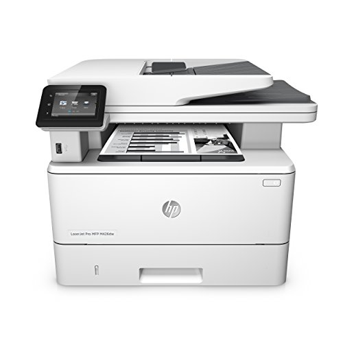 HP LaserJet Pro M426dw Laser Multifunktionsdrucker (Drucker, Scanner, Kopierer, WLAN, LAN, Duplex, HP ePrint, Apple Airprint, USB, 4800 x 600 dpi) weiß -