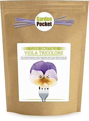 Garden Pocket - Fleurs Comestibles VIOLA TRICOLORE - Sac de pot de fleur