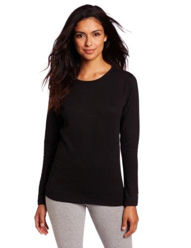Duofold by Champion Thermals Women's Base-Layer Shirt Black M