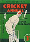 News Chronicle Cricket Annual 1938