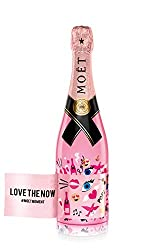 Moët & Chandon Rosé Impérial Emoëticons Limited Edition Emoji Champagner Love the now (1 x 0.75 l)