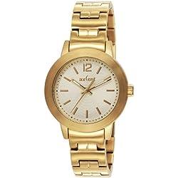 Axcent Damen-Armbanduhr Atomic Analog Quarz Edelstahl IX64847-762