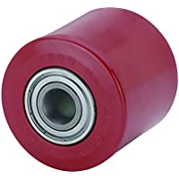 Alex KI - Rodillo para transpaleta (diámetro de 82 mm, carga soportada 500 kg, longitud del buje 70 mm)