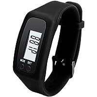 Podomètres, Bonjouree Podomètre De LCD Numérique Walking Distance Calorie Compteur Montre Bracelet