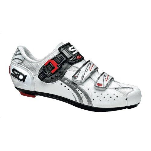 Sidi Chaussures Genius 5Fit Vélo Blanc/Blanc 42
