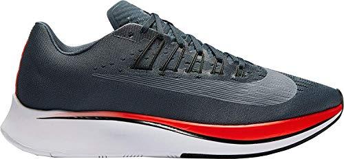 Nike Hombres Zoom Fly Low & Mid Tops Schnuersenkel Laufschuhe Grau Groesse 14 US /48 EU