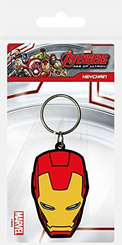 Avengers Age of Ultron Iron Man Gummi Schlüsselanhänger