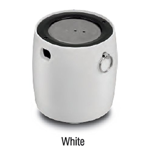 iBall LIL Bomb 70 Ultra Portable Bluetooth Speaker With Mic - White