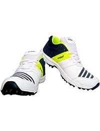 Triqer Rubber Stud Multicolour Cricket Shoes.