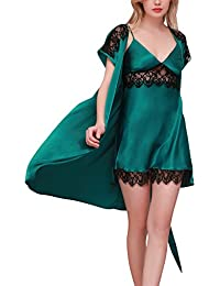 Amazon.co.uk  Green - Nightdresses   Nightshirts   Nightwear  Clothing 643ae5383