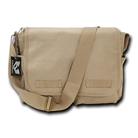 Rapiddominance Classic Military Messenger Bags, Khaki