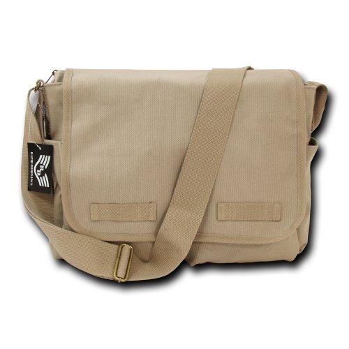 Rapid rapiddominance Classic Military Messenger Taschen, Herren, Khaki Classic Pump