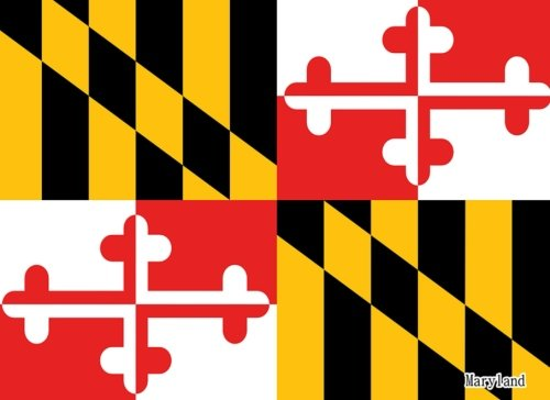 maryland-flag-of-maryland-guest-book-special-gifts-825x-6-diary-journal-notebook-100-pages