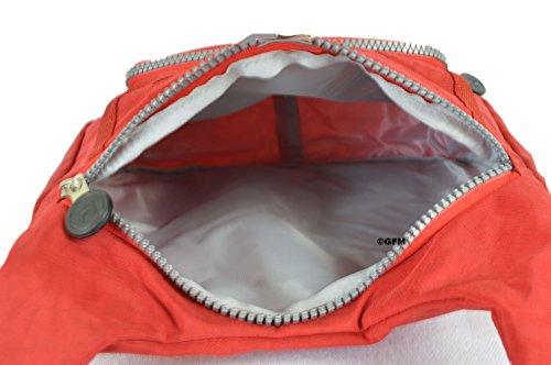 GFM Fashion, Borsa a tracolla donna Multicolore multicolore Small XS1VLL - Red