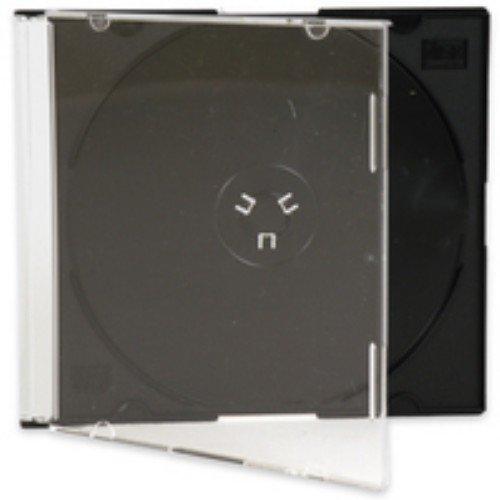 CD Jewel Cases KF02210 Slim, Schwarz, 100 Stück