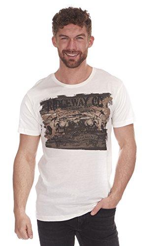 Cargo Bay Herren T-Shirt Cream Rugged