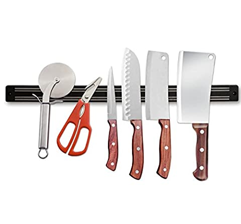 Knife Holder 12 inch ★Easy To Clean ★Strong materials ★Dual Magnetic Strip ★Easy To Install★Practical ★Heavy Duty 325