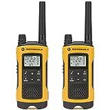 Motorola Talkabout T460 Rechargeable Two-Way Radio Pair Dark Blue