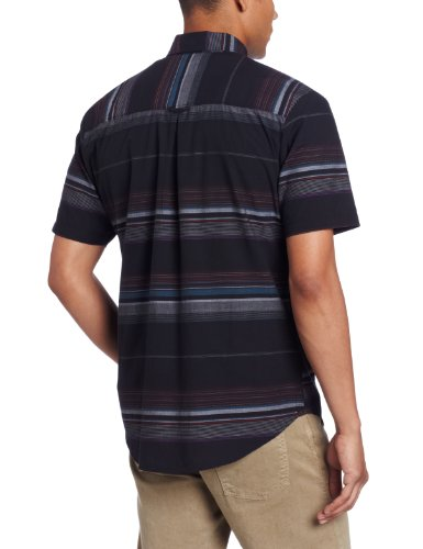 Volcom - - Peterson Woven Shirt Hommes Tinted Black