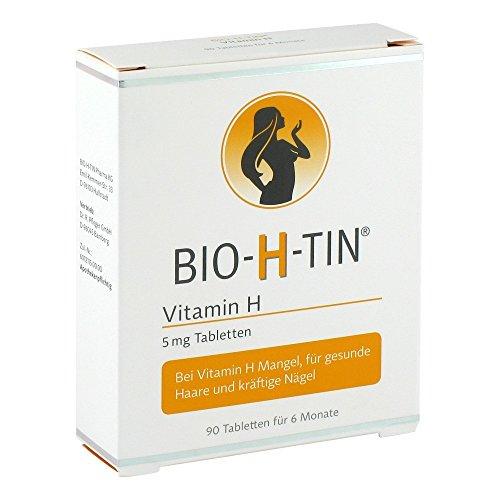Preisvergleich Produktbild Bio-h-tin Vitamin H 5 mg für 6 Monate Tabletten 90 stk