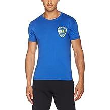 Boca Juniors Hombres de la boca, Logo azul S, hombre, 5060360360096, azul, Medium
