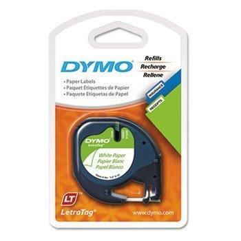 Preisvergleich Produktbild DYM10697 - LetraTag Paper Label Tape Cassettes by Dymo