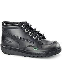 KEFAS - Zapatillas de ante para hombre, color verde, talla 35.5