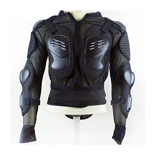 CX ECO Schutzausrüstung Rüstung Motorrad Körper Rüstung ATV Straße Motorrad Schutzjacke Ganzkörper Rüstung Protector Pro Motocross Rückenschutz MTB-Jacke,M