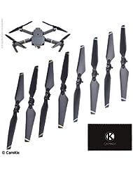 8 Cuchillas Negro 2 Juegos Pruebas de Vuelo Alas Plegables de Lanzamiento r/ápido Camkix/® Propulsores Compatible con dji Mavic Pro