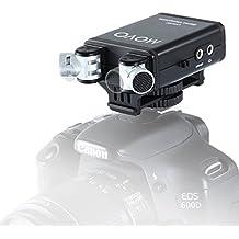 Maniglia superiore Movo photo SVH6/stabilizzatrice per video /& Cold Shoe Extender per Canon EOS Nikon Olympus /& Pentax