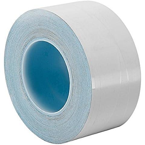 TapeCase 8805 11,99 (4,72 cm, 3 m x 3 m, colore: bianco, 36yd 8805 polimero acrilico adesivo conduttore-Nastro a trasferimento termico, spessore (0,005 0,01 cm, lunghezza 36 yd., larghezza 11,99 (4,72 cm - 3 A Trasferimento Termico Bianco
