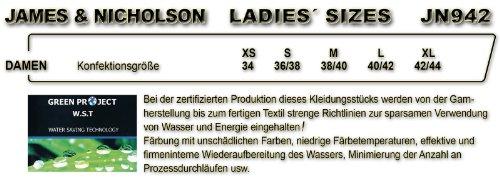 "J&N - Damen ""Vintage""-Kapuzenjacke (JN942) Limonengrün"
