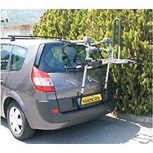 Siepa Easy 400 - Portabicicletas para maletero o portón trasero, para 2bicicletas