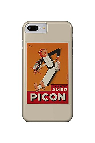 L'Aperitif Amer Picon Vintage Poster (artist: Sepo) Switzerland c. 1934 (iPhone 7 Plus Cell Phone Case, Slim Barely There)