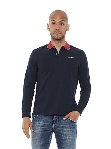 JECKERSON Herren Poloshirt, einfarbig Blau