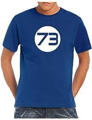 Touchlines Herren T-Shirt Sheldons Best Number 73
