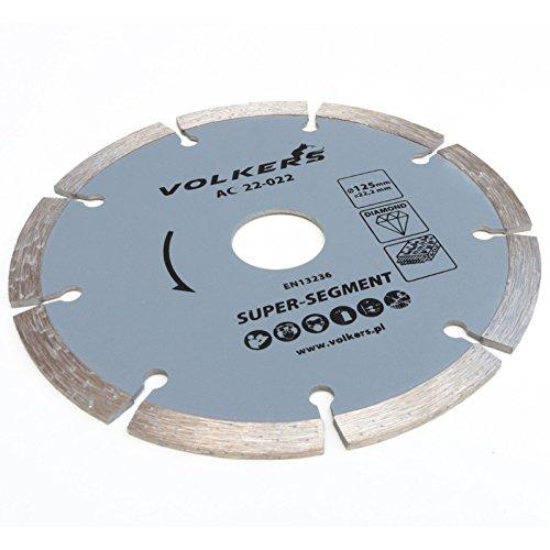 Diamanttrennscheibe für Stahlbeton Ø 125 x 22,2 mm Trennscheibe Beton Stein