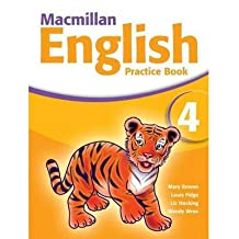 ‏‪Macmillan English 4 Practice Book‬‏