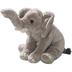 Carl Dick Peluche - Elefante Sentado (Felpa, 15cm) [Juguete] 3366
