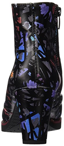 ART 1073 Fantasy St.Tropez, Bottes Classiques Femme Noir (Black Chaos)